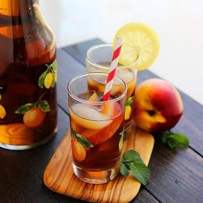 Tipsy Lemonade and Peach Iced Tea