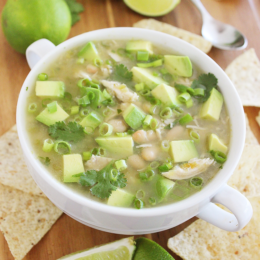 Easy Salsa Verde White Chicken Chili The Comfort Of Cooking