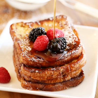 Cinnamon Swirl Bread French Toast