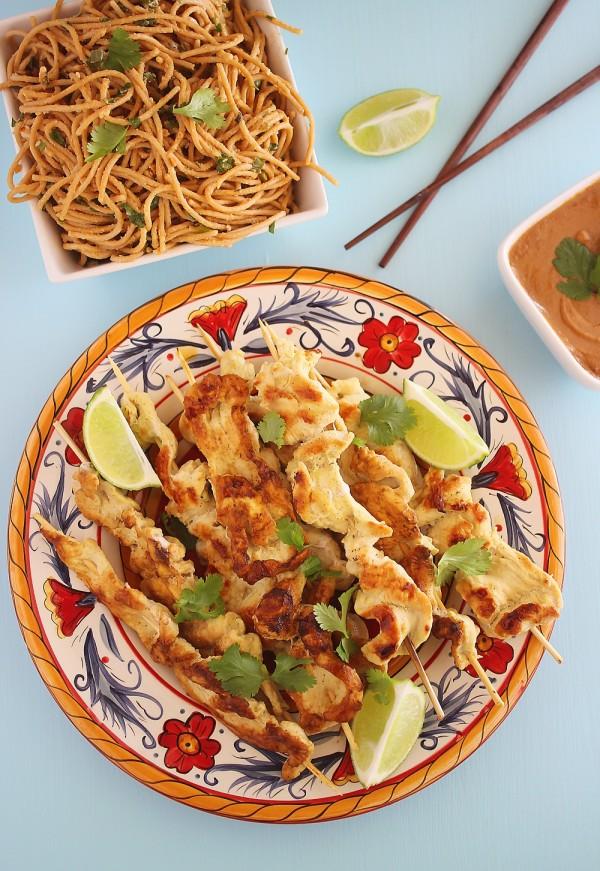 creamy satay chicken peanut sauce chicken satay blog chicken satay ...