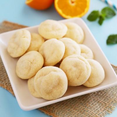 Super Soft Clementine Sugar Cookies