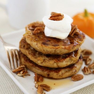 Pumpkin Vanilla English Muffin French Toast