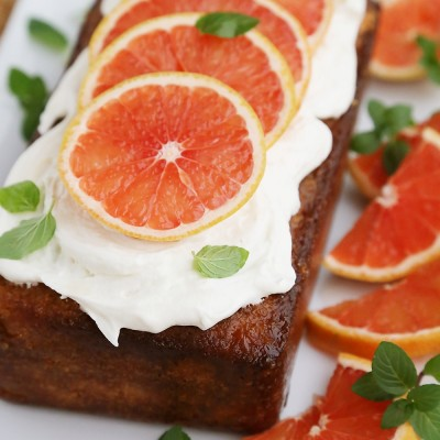 Super Moist Grapefruit Cake