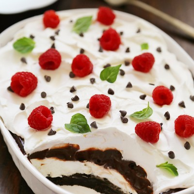 No-Bake Chocolate Layer Dessert