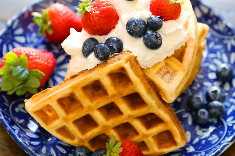 Fluffy Belgian Waffles